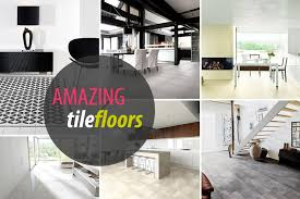 12 rooms with innovative tile floors decoration trend