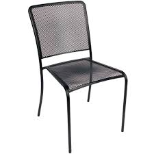 Black Patio Dining Set - black outdoor dining chairs