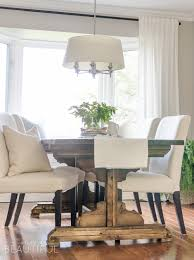 Floor Dining Table Diy Farmhouse Dining Table Plans A Burst Of Beautiful