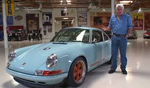 singer porsche williams engine singer porsche 911 roars into jay leno u0027s garage video