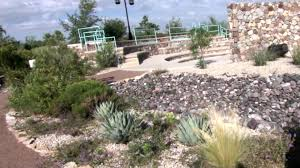 xeric demonstration garden layering landscapes el paso botanical