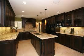 kitchen room dazzling dark walnut kitchen cabinets ideas for home