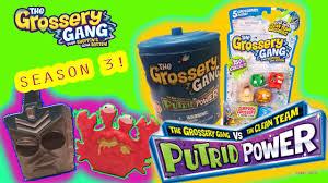 grossery gang putrid power trash 12 pack 5 pack trash cans moose