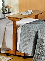rolling table over bed rolling bedside table over bed quickinfoway interior ideas fun