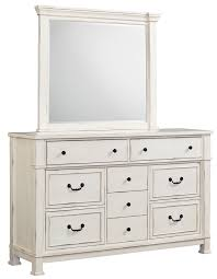 White And Mirrored Bedroom Furniture Standard Furniture Chesapeake Bay Vintage White Dresser And Mirror