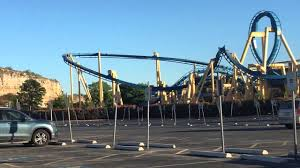 Six Flags San Antonio Goliath Off Ride Six Flags Fiesta Texas In San Antonio 2016 Youtube