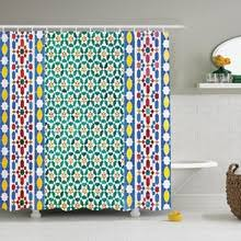 Orange And Blue Shower Curtain Mosaic Shower Curtains Online Shopping The World Largest Mosaic