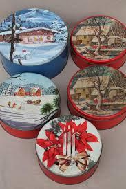 vintage gift tins cookies tin lot in