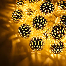 String Lights In Bedroom by 29ft Hollow Ball Led Christmas String Lights W Power Adapter