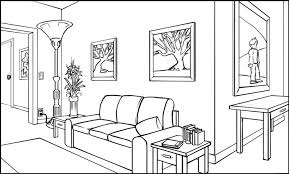 two point perspective interior drawing how to draw a room in two