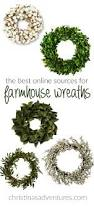 Online Home Decoration by The Best Places To Find Farmhouse Wreaths Online Wreaths House