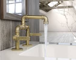 Customizable Industrial Style Faucet Design From Watermark Fres Industrial Bathroom Fixtures