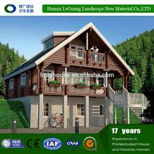 Prefabricated House Waterproof Log Cabins Prefab House Container Homes Prefabricated