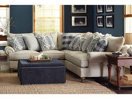 10 foot sectional sofa paula deen by craftmaster p711700 2 piece sectional sofa with rolled