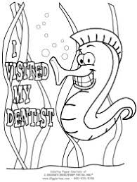 images female dentist coloring page