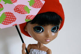 how to make an opened doll umbrella out of paper doll crafts