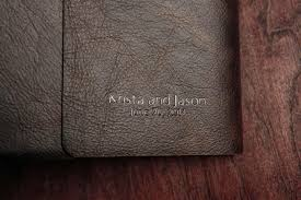 leather wedding photo album wedding albums modern wedding photography by chastain