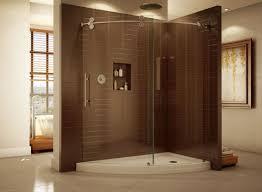 shower frameless shower doors u channel curious frameless