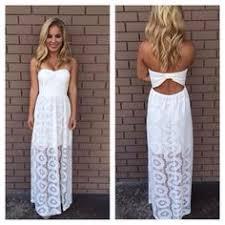white lace maxi dress for beach dresses pinterest white lace