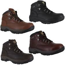 northwest inuvik mens leather trail hiking walking lace up boots