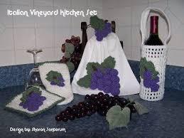 Vineyard Kitchen Rugs 58 Best Crochet Grapes Images On Pinterest Crochet Ideas