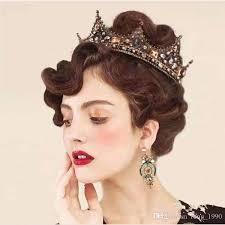 bridal accessories 2017 wedding bridal crown hair accessories baroque princess
