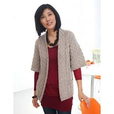 Drape Cardigan Pattern Long Cardigan With Pockets Free Knitting Pattern For Sweater