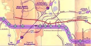 map of kissimmee 192 map kissimmee tourist information bureau