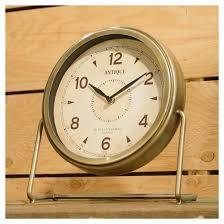 modern decorative table clock gold vip home u0026 garden target