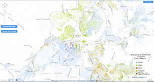 Bristol Tennessee Map by Check Out A Demographic Map Of Nashville From