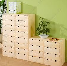 caisson bureau bois console à roulettes en pin massif fsc