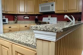 furniture attractive kitchen countertop materials on cream bar