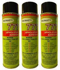 Upholstery Spray Glue Polymat Adhesive Car Audio Speaker Grill Ebay