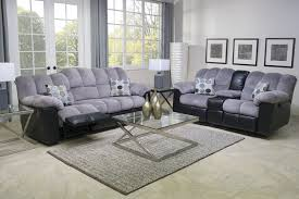 fountain gray reclining sofa mor furniture for less