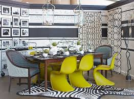 Yellow Kitchen Table And Chairs - 25 elegant and exquisite gray dining room ideas