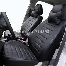 housse siege de voiture personnalisé housse de siège de voiture en cuir noir housse de siège de voiture