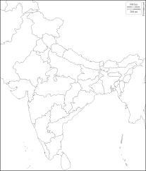 India Map Of States by India Free Map Free Blank Map Free Outline Map Free Base Map