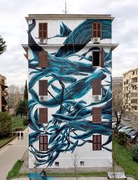 flowing swarms of animals and other beasts painted on urban walls pantonio 5
