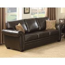 Contemporary Leather Loveseat Leather Contemporary Sofas Couches U0026 Loveseats Shop The Best