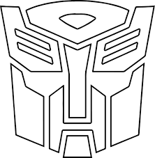 transformers autobot logo coloring page wecoloringpage