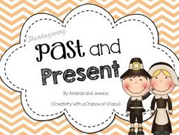 thanksgiving past and present activity pack by