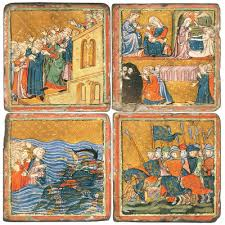 santa haggadah golden haggadah 1320 barcelona aragon spain 14th century