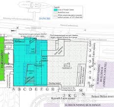 uvaterv design of the kossuth square deep level garage and fig 2 layout after reconstruction with the ground plan of level 1