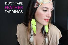 duct earrings diy duct earrings 101 duct crafts