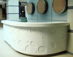 Stone Reception Desk Solid Surface Reception Desk Tw Part 005 The Most Trusted
