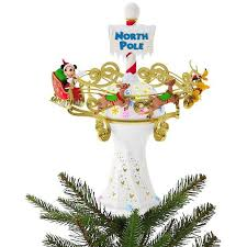 disney mickey mouse oh what tree topper with light and