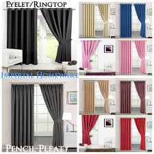 Nursery Blackout Curtains Uk by Thermal Blackout Curtains Ebay