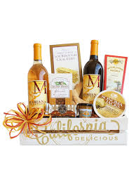 California Gift Baskets California Cornucopia Wineshop At Home