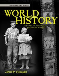 high school history book world history observations assessments from creation to today