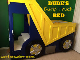 true hope and a future dude u0027s dump truck bed bedroom decor
